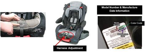 11245 Safety 1st Alpha Omega Elite Car Seat Recalls